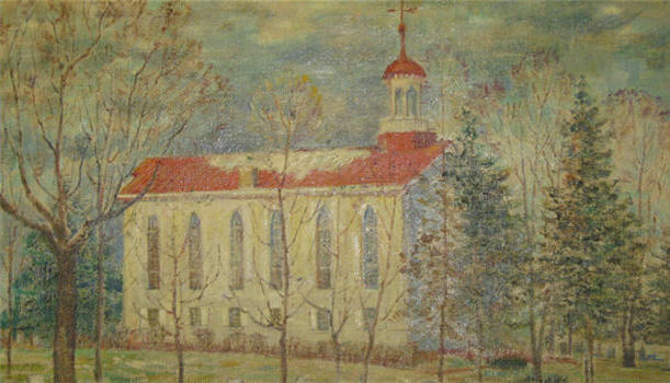 Early Spring Church